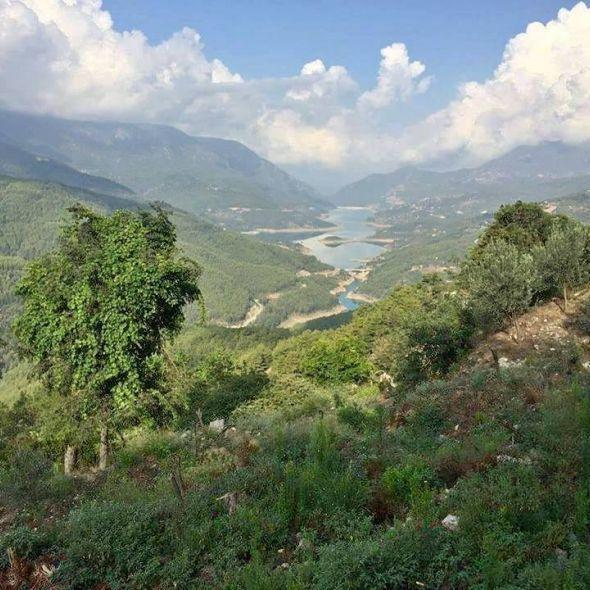 Alanya dim çayı baraj manzaralı, 780m2 tek tapu bahçe satılıktır.