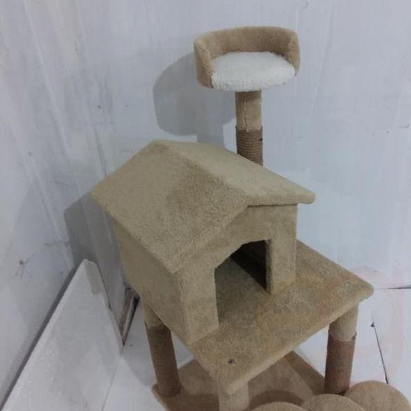 Kedi tirmalama ve oyun parkuru sifir üründür