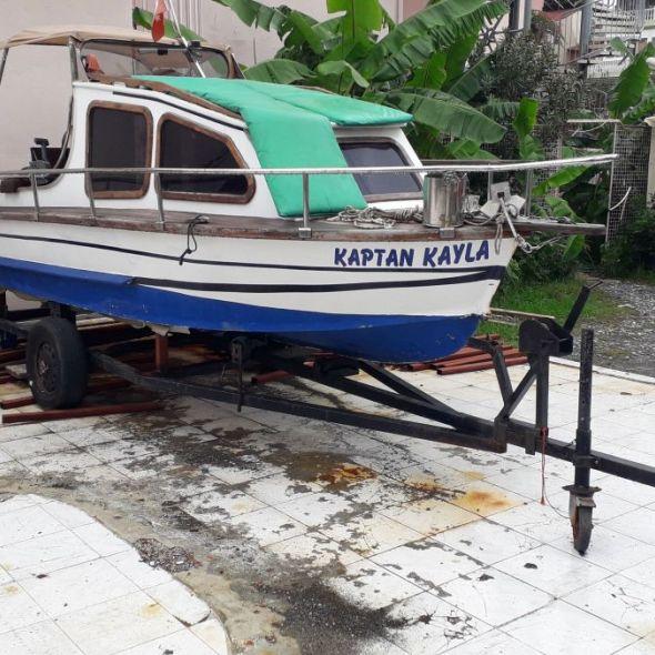 Satılık 4.90 tekne