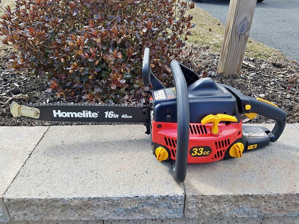Homelite Chainsaw 33cc 16 Inch Bar In Tools Everyg
