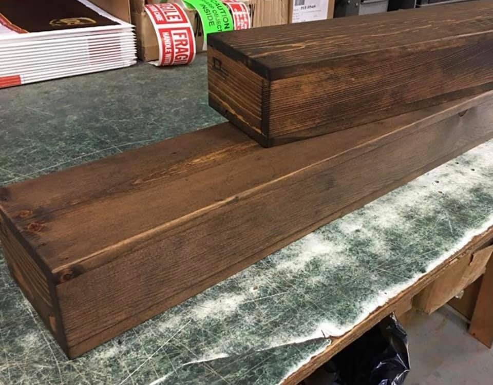 made to order 25 per foot one one free reclaimed wood floating shelves P9460