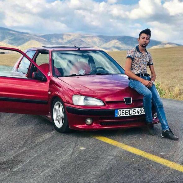 106 GTİ S16 1998 MODEL KAZALI
