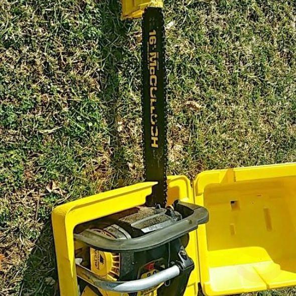 """16"""" Mc cloche chainsaw"""