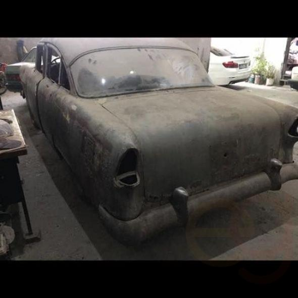 1955 Chevrolet chassis spare parts for sale for decor or a sector of society