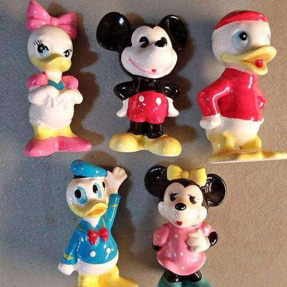 1980's Disney ceramic figures