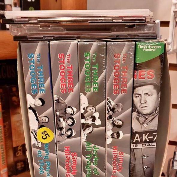 3 Stooges VHS set