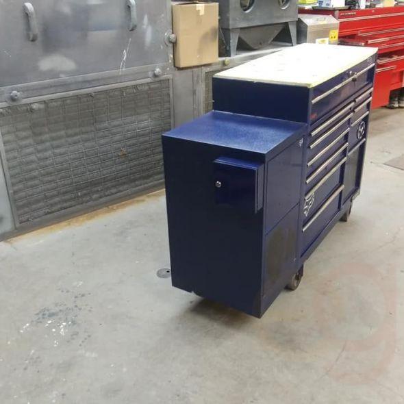 41 in. Blue kolbalt Tool Box
