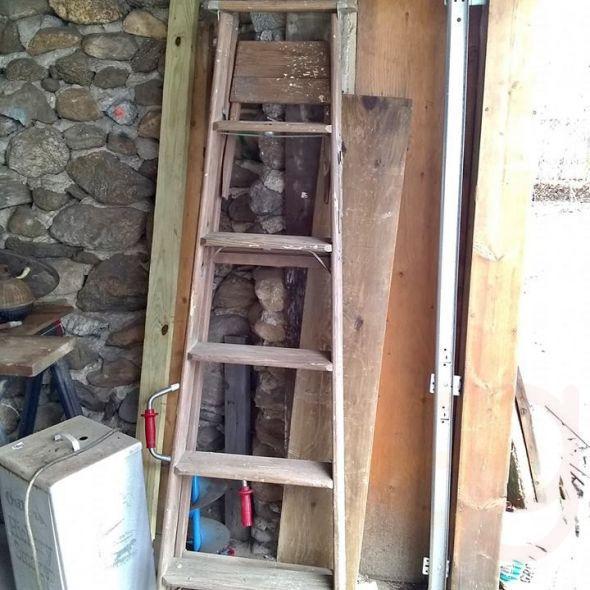 "6"" Wood's ladder"