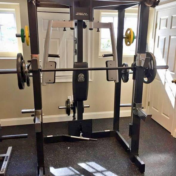 Gym Smith Machine Squat Rack