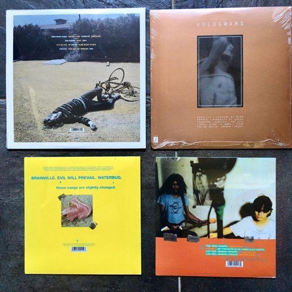 Indie rock LPs