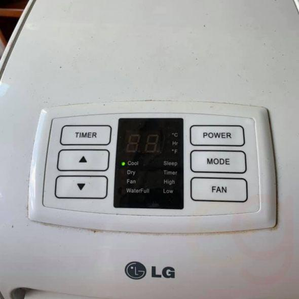 Lg 8000 btu portable Air-conditioner