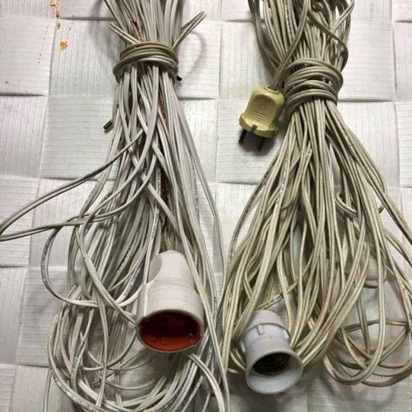 Seyyar uzatma kablosu 30m
