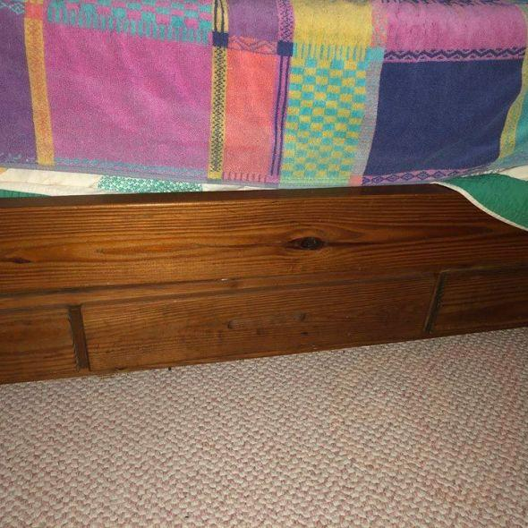 Twin Bed Frame This End Up W Bunk Drawer Unit In Furniture