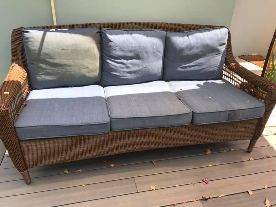 Hampton Bay Outdoor Couch Furniture, Hampton Bay Outdoor Furniture