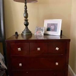 Timber Dresser and Night Stand