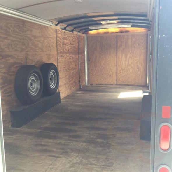 1996 PACE 20' x 7 1/2' enclosed trailer