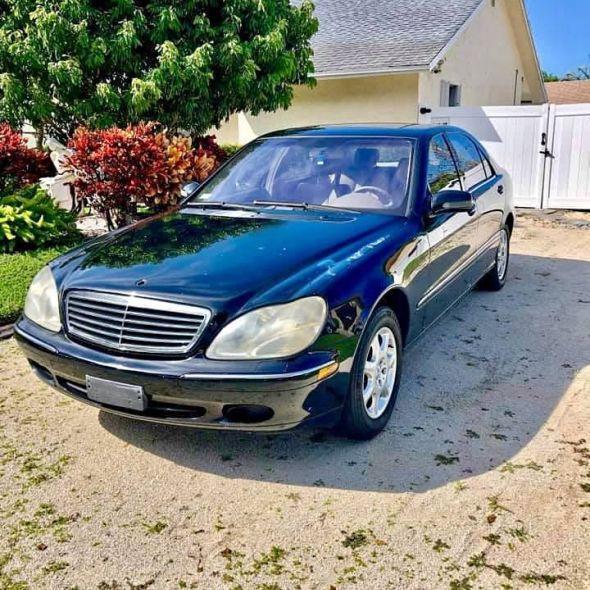 2002 Mercedes-Benz S-Class S 500 sedan 4D