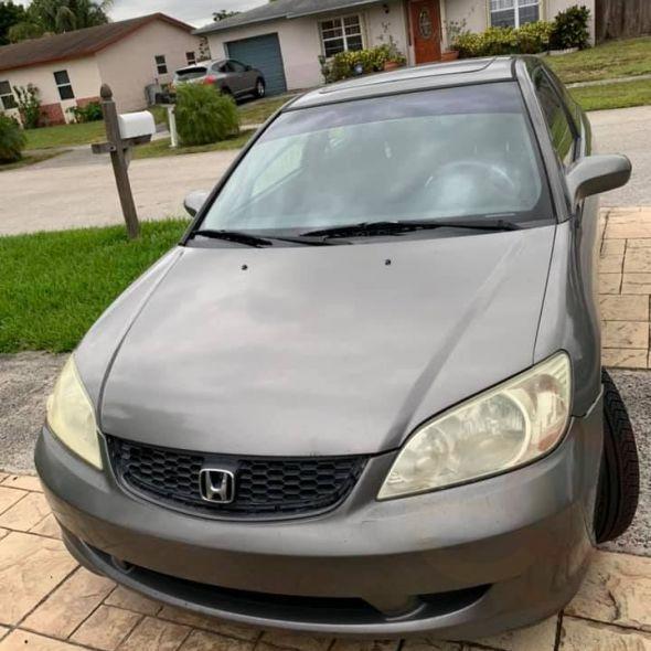 2005 Honda Civic · EX Coupe 2D