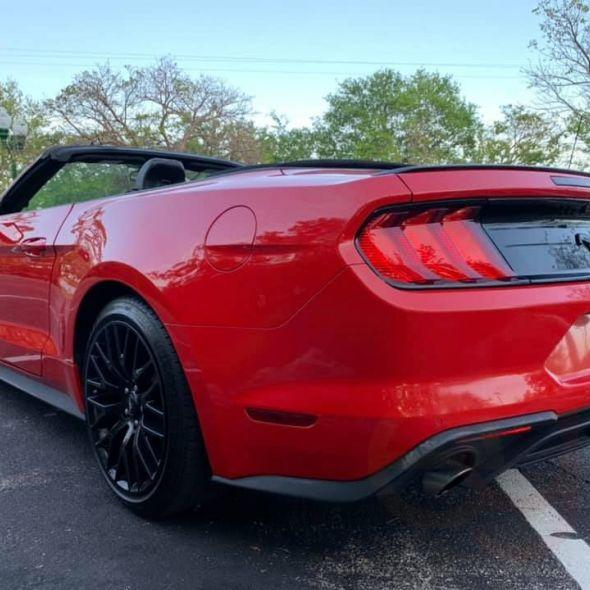 2018 Ford Mustang · EcoBoost Premium Convertible 2D