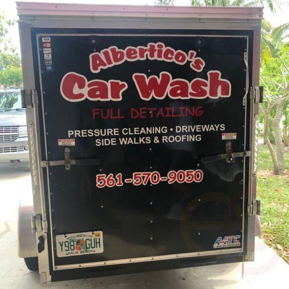 (2)  Car wash
