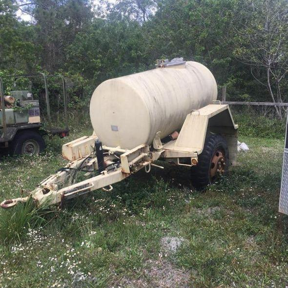 500 Gallon Fuel Tank >> 500 Gallon Water Buffalo Fuel Tank Trailer In Vehicles