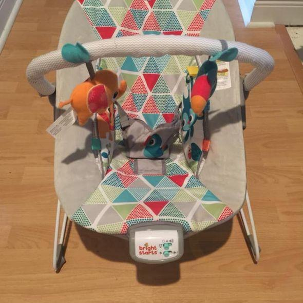 Kid rocker Bright Starts baby Toucan Tango