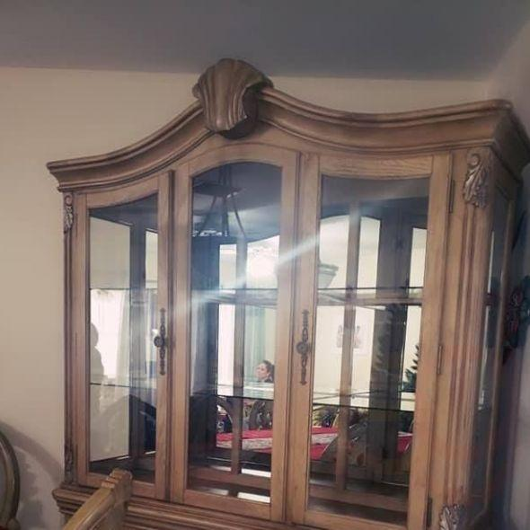China Cabinet TOP ONLY - REDUCED TO $45 (LOXAHATCHEE)