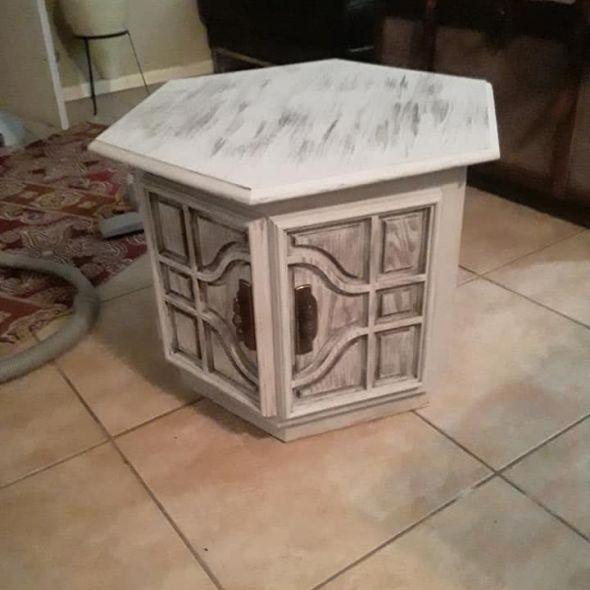 Custom Vintage End Table
