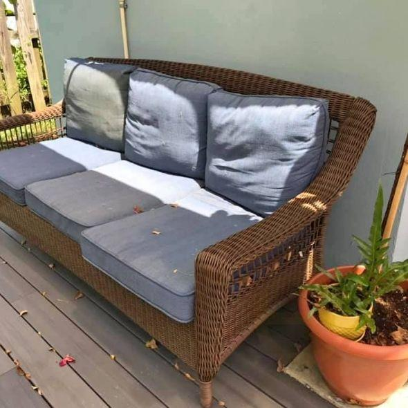 Magnificent Hampton Bay Outdoor Couch In Furniture Cjindustries Chair Design For Home Cjindustriesco