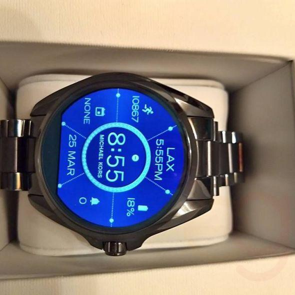 ichael Kors Bradshaw Smart Watch