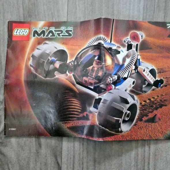 lego 7312 t3 – trike life on mars toy