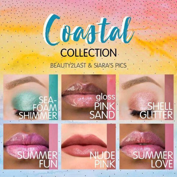 LipSense SeneGence Coastal Collection