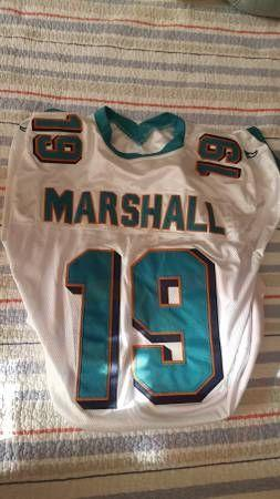 new styles c259d c8bad Marshall Size 50 Miami Dolphins Replica Jersey In Antiques