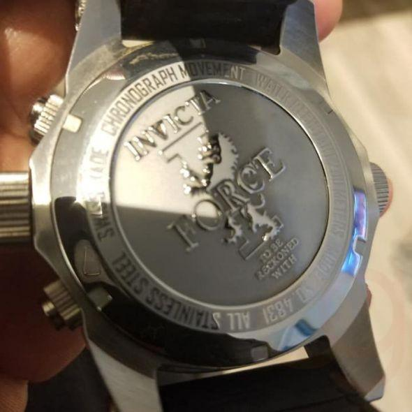 n's Invicta Force watch