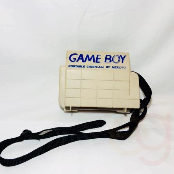 Original Nintendo game boy portable carry-all case bundle lot with 5 games MARIO TETRIS