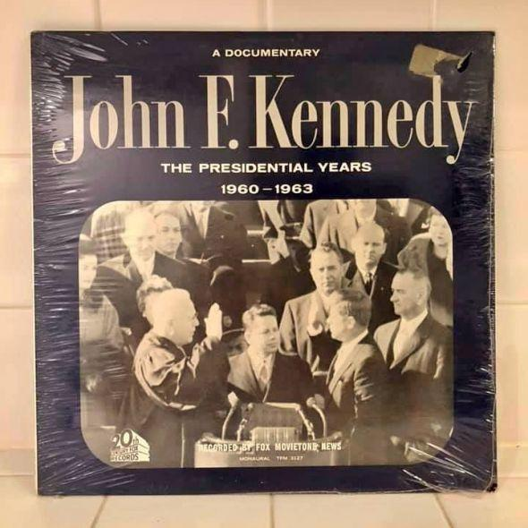 President Kennedy albums records