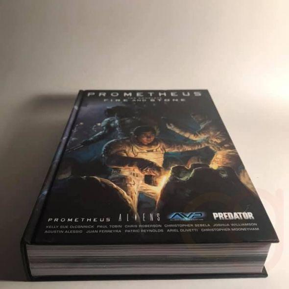 Prometheus The Complete Fire & Stone Alien vs Predator -hardback book- never read!