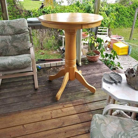 Pub Style Table In Furniture