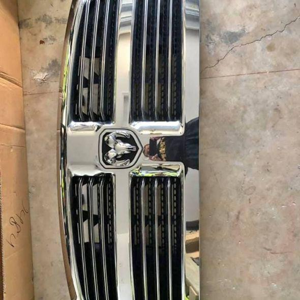 Ram grill and lights