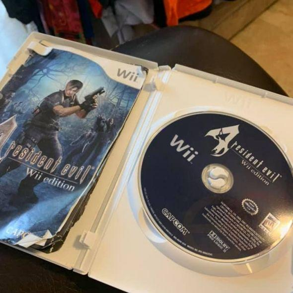Resident Evil 4 Wii. video game