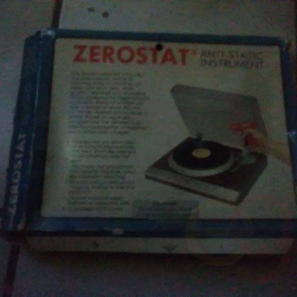 zerostat record cleaner rare in original box