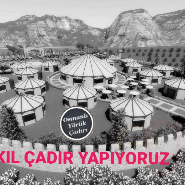 Osmanlı Yörük Çadırı, özel üretim kıl çadır